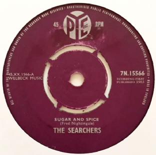 "Searchers (The) - Sugar And Spice (7"") (F-G/NM)"